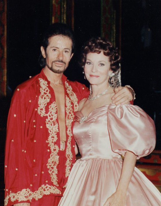 "George Chakiris and Lee Meriwether in ""The King & I"""